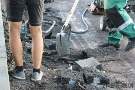 Триває капітальний ремонт вулиці Київської