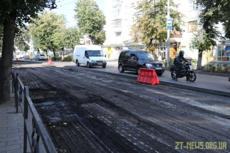 Цьогоріч у Житомирі планують повністю відремонтувати три вулиці