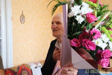 Сергій Сухомлин привітав довгожителя Івана Кругляка зі 100-річчям