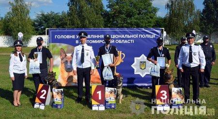 У Житомирі нагородили переможців V Всеукраїнського чемпіонату з багатоборства кінологів