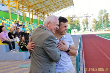 Сергій Сухомлин вручив стипендії кращим житомирським спортсменам