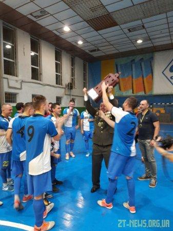 Кубок Житомирського міського голови з футзалу здобула команда «Автомобіліст»