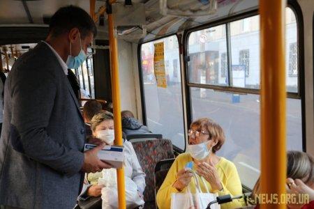Заступник міського голови разом з поліцією вирушив у рейд громадським транспортом