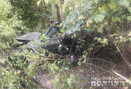 Поблизу Житомира Mercedes Vito влетів у припаркований на узбіччі ВАЗ
