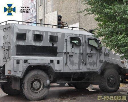 У Житомирі СБУ провела антитерористичне навчання на базі установи виконання покарань
