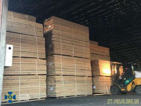 На Житомирщині СБУ викрила організоване угруповання на незаконному експорті деревини до Азії