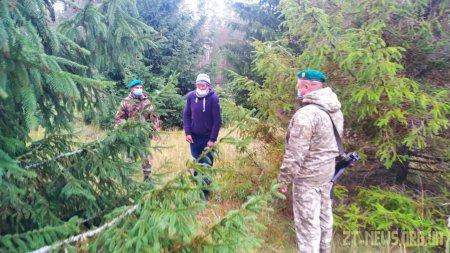 На Житомирщині чоловік намагався незаконно перетнути  кордон з Білоруссю