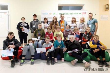 Велошкола для учнів Житомира зібрала понад 100 учасників