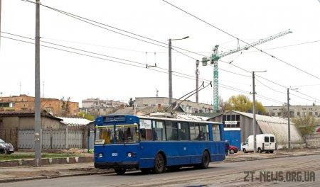 У Житомирі продовжують ремонт вул. Київської: від завтра знову змінено рух тролейбусів