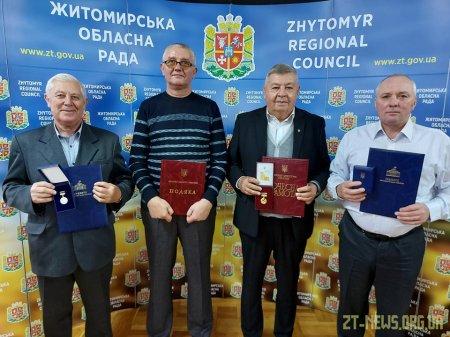 Житомирських працівників сфери ЖКГ відзначили державними нагородами