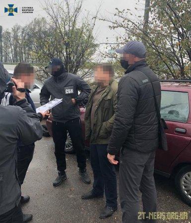 На Житомирщині СБУ затримала старшого слідчого поліції на хабарі