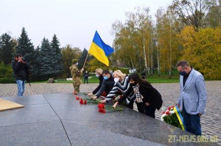 У Житомирі вшанували пам'ять загиблих в роки Другої світової війни