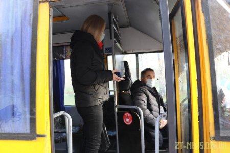 У Житомирі посилили перевірку за дотриманням карантину у громадському транспорті