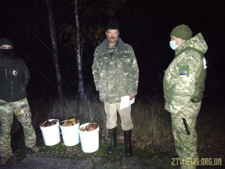 В Чорнобильській зоні затримано поціновувачів  радіоактивних грибів