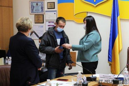 Учасника АТО Сергія Василенка нагороджено відзнакою «За заслуги перед містом Житомиром» III ступеня