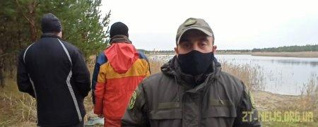 На Житомирщині затримали браконьєрів, які ловили рибу на 10 сіток