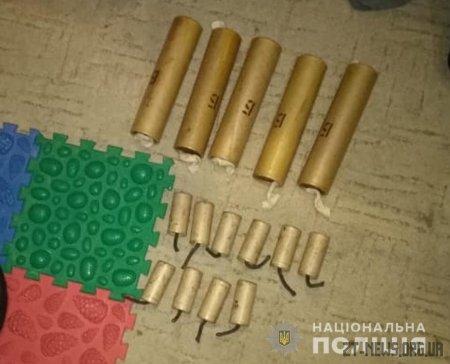 Поліцейські вилучили у квартирі житомирянина гранати