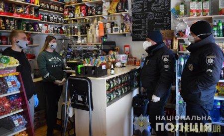 Майже 1800 адмінпорушень зафіксували поліцейські Житомирщини через ігнорування правил карантину