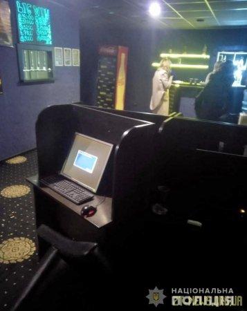 Поліцейські вп'яте припинили діяльність грального залу у центрі Житомира
