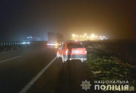 У Житомирській області Opel збив жінку, яка на узбіччі дороги допомагала чоловіку лагодити автомобіль