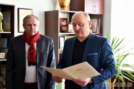 Володимир Ширма привітав колектив «Бердичівської фабрики одягу» зі 100-річним ювілеєм