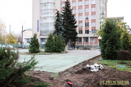 У Житомирі триває будівництво скейтпарку
