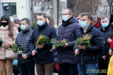Житомиряни вшанували пам'ять жертв голодоморів