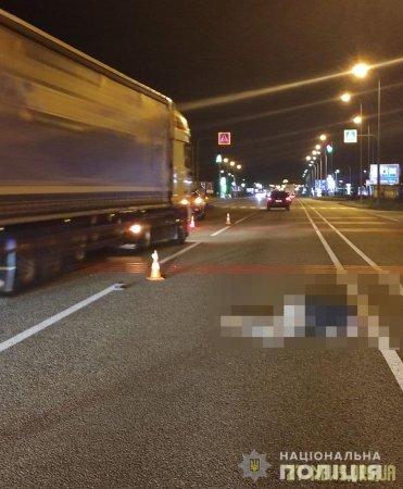 Поблизу Житомира Toyota на смерть збила жінку