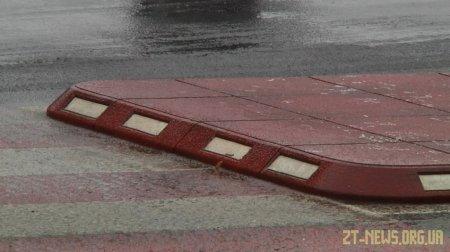 На вулицях Житомира встановили ще чотири острівці безпеки