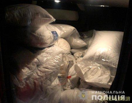 На Житомирщині поліцейські затримали автомобіль з 700 кг бурштину