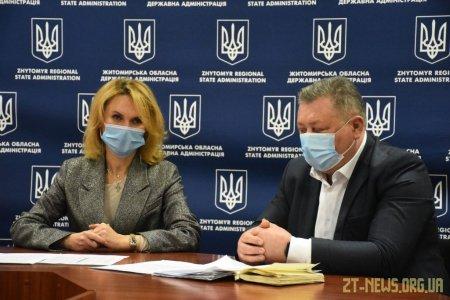 В ОДА розповіли про ситуацію з ковідом на Житомирщині