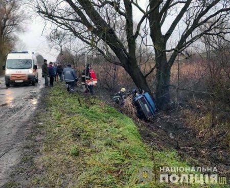 Одразу троє людей загинуло внаслідок ДТП на Житомирщині