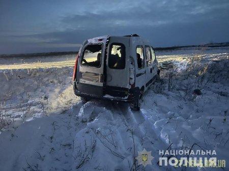 На Житомирщині перекинувся легковик, двоє дорослих та дитина у лікарні
