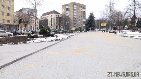 У Житомирі почали реконструкцію другої частини Нового Бульвару