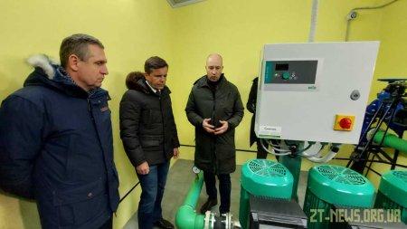 У Житомирі модернізували ще одну підвищувальну насосну станцію