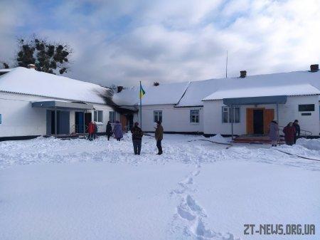 У Житомирській області горів дитсадок: діти в цей час були на прогулянці