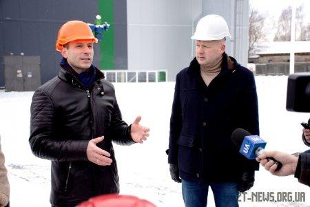 На Житомирщині відкрили нову ТЕС, що використовує місцеве паливо