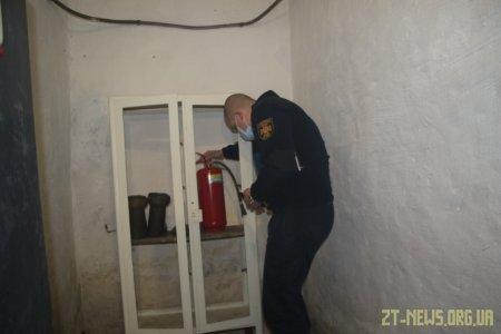 У Житомирі рятувальники обстежують дошкільні навчальні заклади та школи