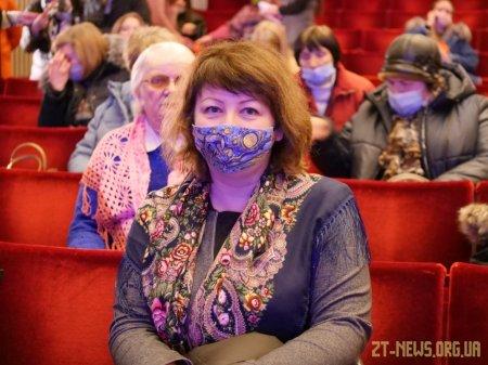 Оксана Забужко у Житомирі презентувала книгу, присвячену Лесі Українці