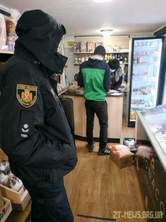 Мобільні групи продовжують перевіряти як у Житомирі виконуються карантинні заходи