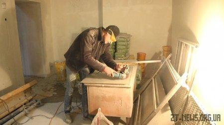 Реконструкція магістрату на Замковій горі завершена на 75-80%