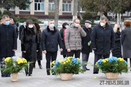 В Житомирі вшанували пам'ять Тараса Шевченка