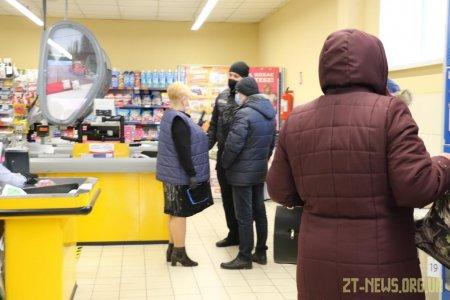 22 магазини перевірені мобільними групами у Житомирі