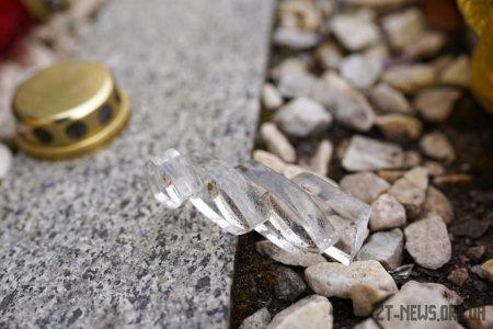 У Житомирі поліцейські затримали молодика, підозрюваного у пошкодженні пам'ятника