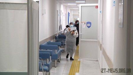 120 людей отримали вакцину від коронавірусної інфекції на базі стаціонарного пункту з вакцинації у Житомирі