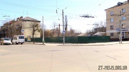 На перехресті Театральної та Київської планують збудувати торгівельно-офісний центр