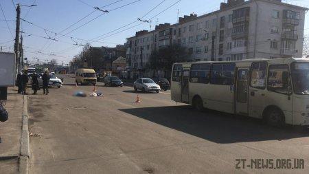 У Житомирі на Київській автомобіль насмерть збив пішохода