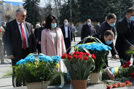 У Житомирі відсвяткували День космонавтики урочистими заходами