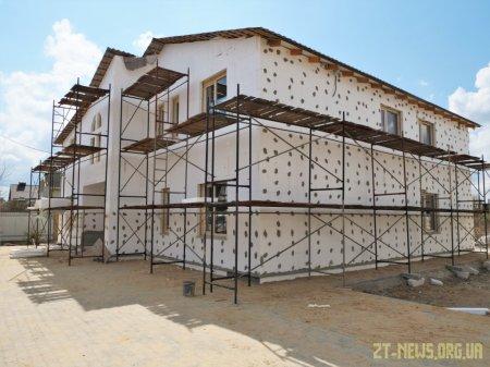 У Житомирі німецький благодійний фонд «Міст в життя» закінчує будівництво 2-х ДБСТ