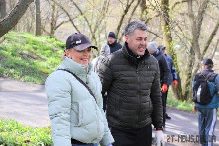 У Житомирі провели акцію #Чистийдень